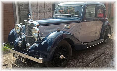 alvis  sports saloon sold kult kars