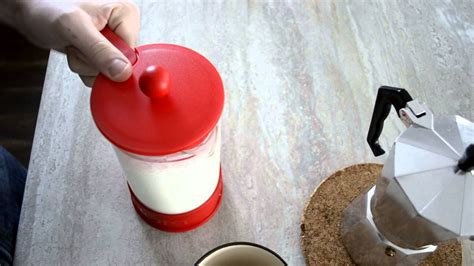 How to froth milk without an espresso machine. Employ few simple tricks to avoid buying an expensive espresso machine --use a French press and ...