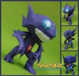 Pokemon Sableye Papercraft