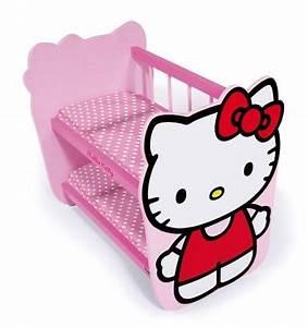 Lit En Bois Poupee : lit superpos hello kitty poupon caverne des jouets ~ Teatrodelosmanantiales.com Idées de Décoration