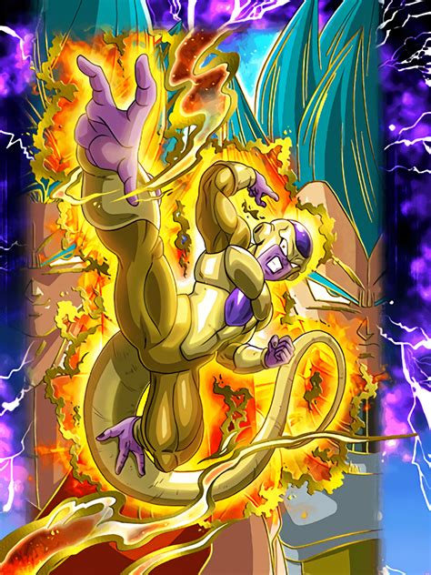 golden emperor golden frieza dragon ball  dokkan battle