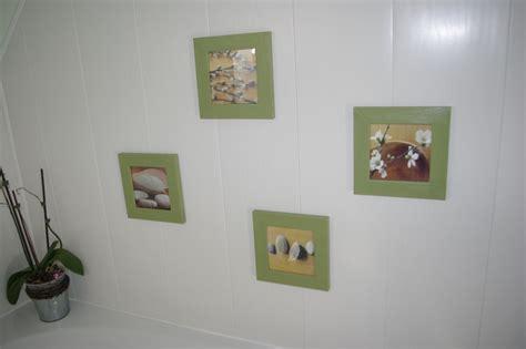cadre cuisine salle de bain photo 3 5 cadres au dessus de la baignoire esprit