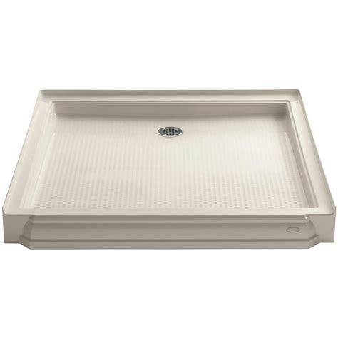Shower Base 54 X 36 - bathroom easy to clean with kohler cast iron shower pan