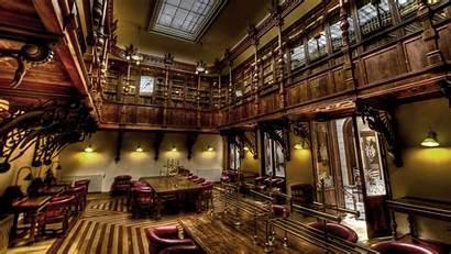 Library Interior Architecture Bibliothek Biblioteca Wallpapers Books