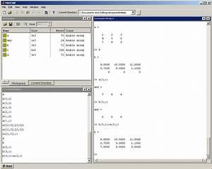 Matlab matrix assignment 2019-07-05 01:40