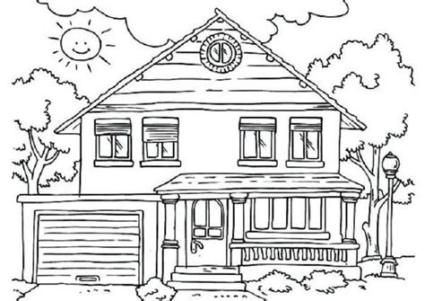 house coloring pages   images house colouring