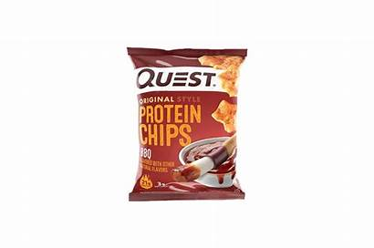 Chips Protein Quest Bbq Nutrition Snacks Mix