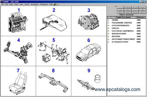 daewoo car parts catalog video search engine  searchcom