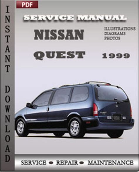 old car owners manuals 1999 nissan quest free book repair manuals nissan repair service manual pdf page 4
