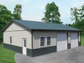 Pole Barn 24 X 40 Metal Building