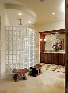 le pave de verre voir les meilleures idees With pave de verre salle de bain