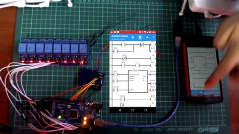 programing the arduino with plc ladder simulator pro
