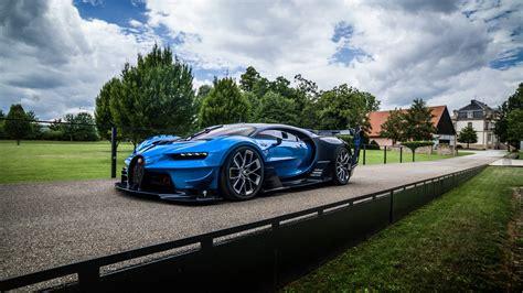 Wallpaper Bugatti Chiron, Vision Gran Turismo, 4K, Bugatti ...