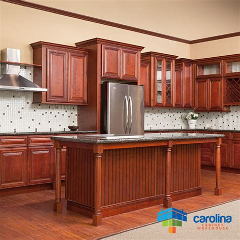 cherry cabinets  solid wood cabinets  rta kitchen
