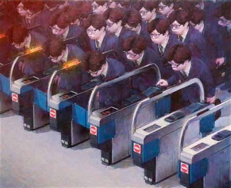 satoru imatakes dystopian modern society   ironic