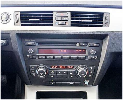bmw e90 radio bmw 3er e90 autoradio einbauset mit antennenadapter din