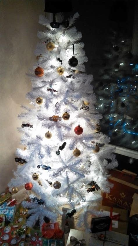 our harley davidson christmas tree christmas pinterest