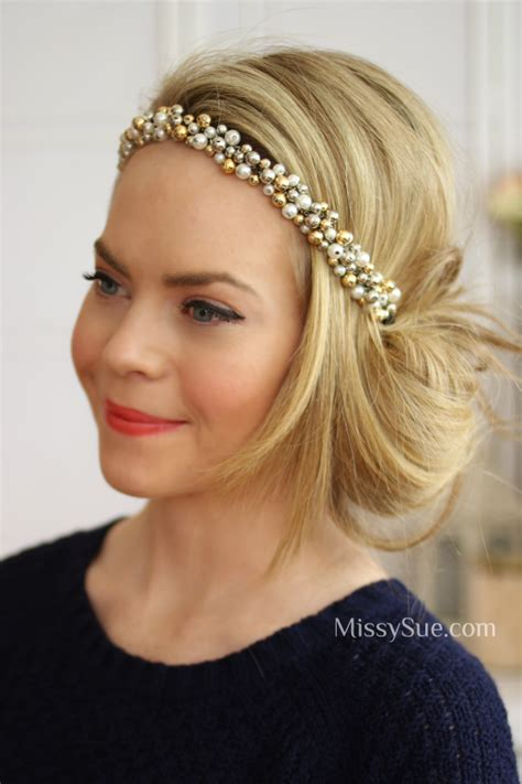 1920 Updo Hairstyles by 1920 Updo With Headband Search Cumplea Os 25