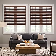 real simple blinds real simple 174 cordless faux wood 48 inch blinds bed bath