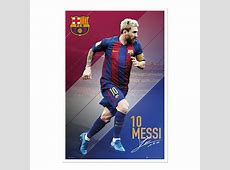 Barcelona Lionel Messi 2016 2017 Poster iPosters