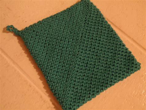 Crochet Pot Holders For Beginners Ivoiregion