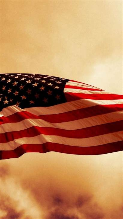 Flag American Wallpapers Wallpaperaccess Thin Line Cell