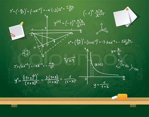 Vector Illustration Of Green School Board