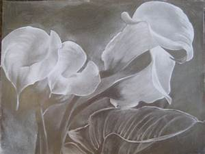 Calla lilies by swear-by-the-pencil on DeviantArt