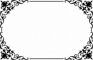 Clipart - Decorative Ornamental Frame Border 2