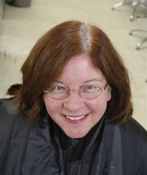gray stylists  women   transition