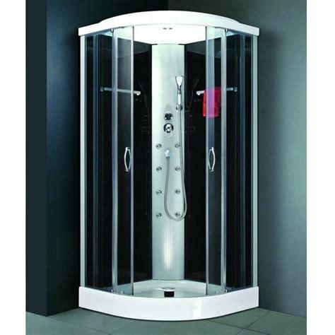 Cabina Doccia Multifunzione 80x80 by Box Doccia Idromassaggio 80x80cm Cromoterapia Cristalli Vi