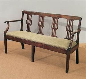 antique french cherry wood settee antique bench antique With couch sofa or settee