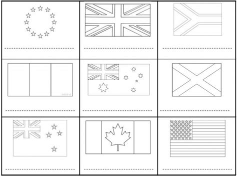 coloriage drapeaux monde entier dessin gratuit  imprimer