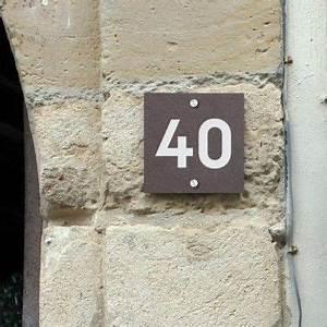 Plaque Numero Maison Design : num ro de maison ardoise house plaques ~ Melissatoandfro.com Idées de Décoration