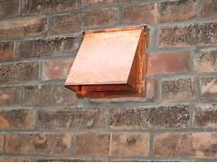 Exterior Wall Exhaust Vent Cover by Copper Wall Range Hood Cap