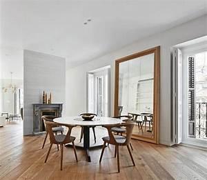 table salle a manger blanche design pour deco cuisine With deco cuisine pour table À manger blanche et bois