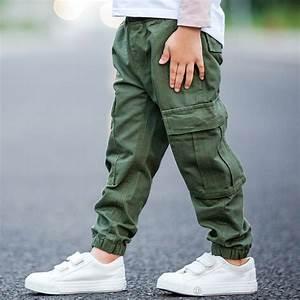 Brand children boy cargo pants spring and autumn baby boy ...