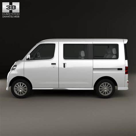 Daihatsu Luxio Backgrounds by Daihatsu Luxio 2013 3d Model For In Various Formats