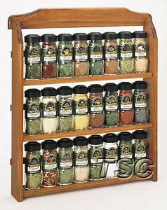 Mccormick Spice Rack by New Mccormick Gourmet Spice Rack W Spices Three Tier Wood