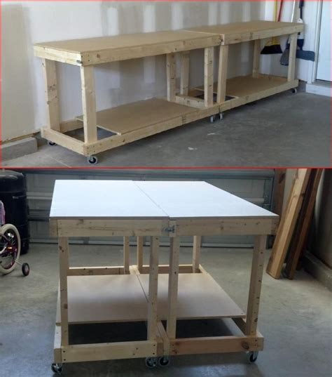 garage workbench on wheels 69 curated wood shop ideas by jonbeede the family