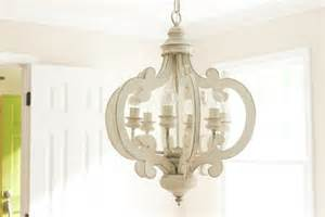 Drum Lights For Dining Room by White Distressed Chandelier Painted 6 By Gracefullyrestored