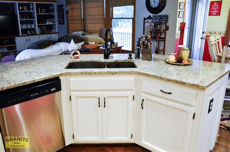 giallo ornamental light granite countertops pair well with