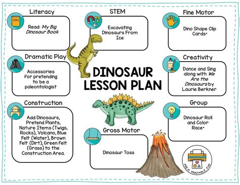 dinosaurs 278 | dinosaurs preschool lesson plan orig