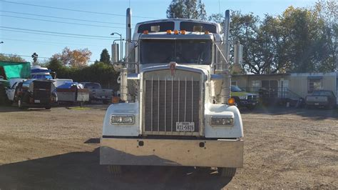 kenworth w900 conventional trucks in california for sale