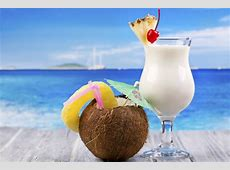 Eat, drink and make merry! Making a Pina Colada