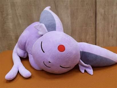 Eevee Sleeping Evolutions Plush Espeon Sleep Pokemon