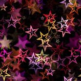 red-and-blue-stars-background
