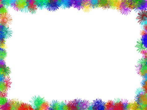 colorful border colourful decorative borders