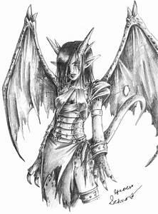 Female Dragonkin by XSpiritofWolvesX on DeviantArt