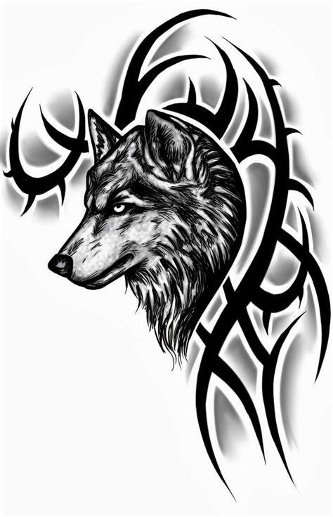 Tattoos Book: +2510 FREE Printable Tattoo Stencils: Wolf tattoo stencils